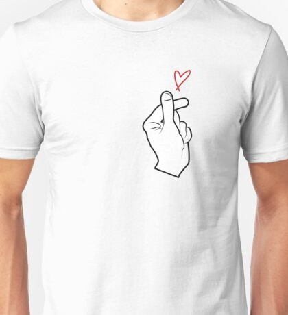 Finger Heart Unisex T-Shirt