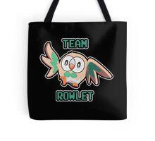 Team Rowlet Tote Bag