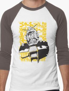 Gundam Love Men's Baseball ¾ T-Shirt