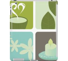 Wellness and relaxation icon pack - tea wellness designers collection iPad Case/Skin