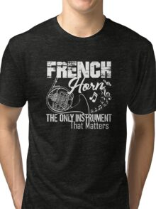 French Horn Shirt Tri-blend T-Shirt
