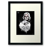 Marilyn Muerte Framed Print