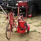 Fire bike by Andy Jordan
