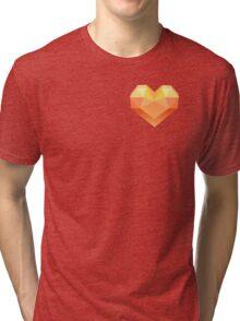 FRACTAL HEART Tri-blend T-Shirt