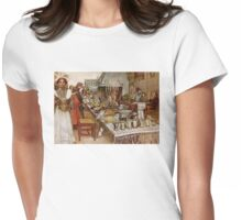 Christmas Eve Julaftonen Womens Fitted T-Shirt