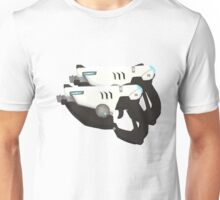 Tracer Guns (transparent version) Unisex T-Shirt