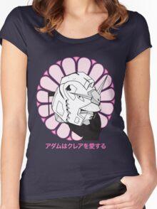 Gundam Buddha Women's Fitted Scoop T-Shirt