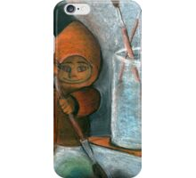 Adulruna - Cute Painter iPhone Case/Skin