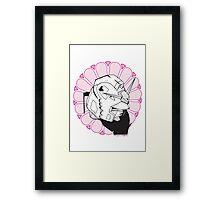 Gundam Buddha Framed Print