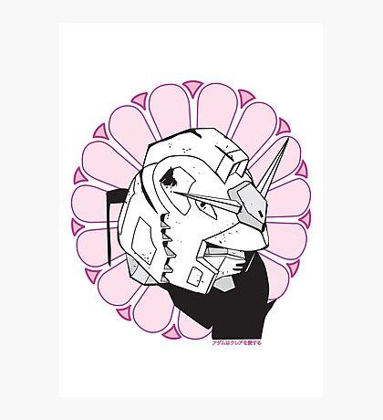 Gundam Buddha Photographic Print
