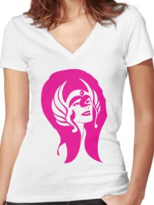 I am (also) She-Ra! Women's Fitted V-Neck T-Shirt