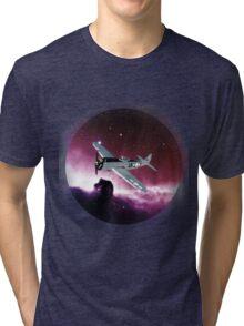 Space Plane Tri-blend T-Shirt