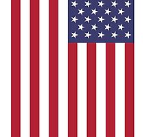 USA - American Flag - iPhone Phone Cover by deanworld