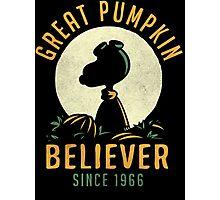 Great Pumpkin Believer Photographic Print