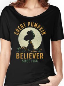 Great Pumpkin Believer Women's Relaxed Fit T-Shirt