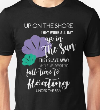 Under The Sea by Last Petal Tees Unisex T-Shirt