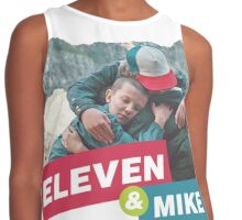 eleven and mike Contrast Tank