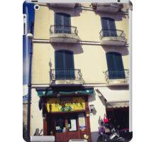 Sorrento street scene iPad Case/Skin