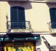 Sorrento street scene Sticker
