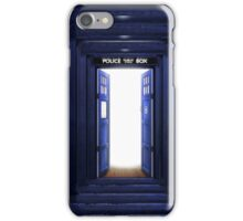 New World in Tardis iPhone Case/Skin