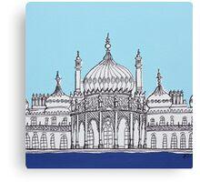 Pavilion Blues Canvas Print