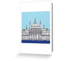 Pavilion Blues Greeting Card