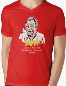"Walter Bishop - ""What A Delicious Strawberry Flavoured Death"" Mens V-Neck T-Shirt"