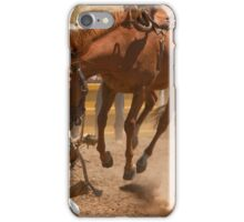 Biting the Dust iPhone Case/Skin