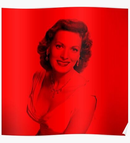 Maureen O' hara - Celebrity (Square) Poster