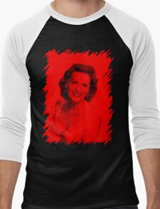 Maureen O' hara - Celebrity Men's Baseball ¾ T-Shirt