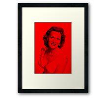Maureen O' hara - Celebrity Framed Print