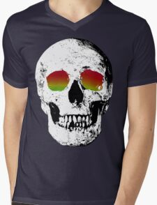 Skull Trip Mens V-Neck T-Shirt