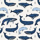 Whales by Andrea Lauren by Andrea Lauren
