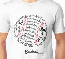 baseball is life Unisex T-Shirt