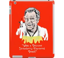 "Walter Bishop - ""What A Delicious Strawberry Flavoured Death"" iPad Case/Skin"