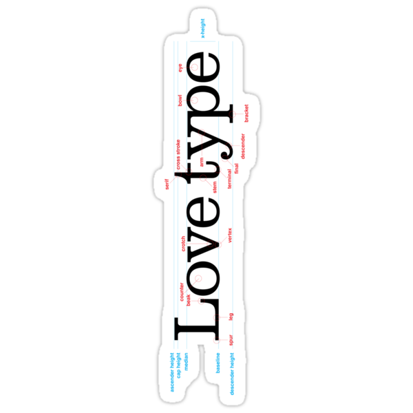 Love Type (a) by Adam Atteia