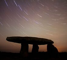 Cornwall Ancient Monument Star Trails by Mark Hobbs