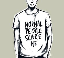 Simon Monroe In The Flesh Normal People Scare Me by 50milestonow