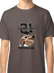Tim Duncan Retire Classic T-Shirt