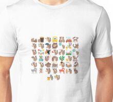 Facebook Fox Sticker Unisex T-Shirt