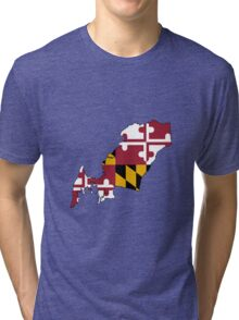 Queen Anne's County, Maryland Tri-blend T-Shirt