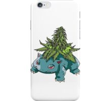 Stoned Bulbasaur iPhone Case/Skin