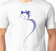 Om Kitty - Sapphire Fade Unisex T-Shirt