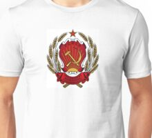 USSR Soviet Union Russia Lenin, Stalin, Coat of Arms Unisex T-Shirt