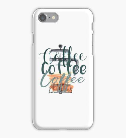 Coffee Coffee Coffee (Gilmore Girls) iPhone Case/Skin