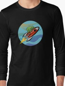 Space Tardigrade: Intrepid Explorer Long Sleeve T-Shirt