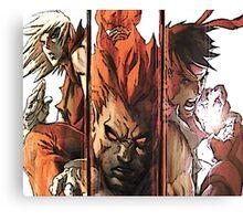 Ken-Akuma-Ryu Canvas Print