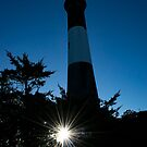 Sunrise By The Lighthouse | Fire Island, New York by © Sophie W. Smith