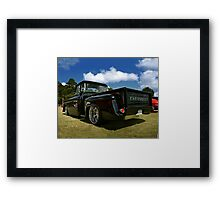 Supercharged 1958 Chevy Apache Pickup Framed Print