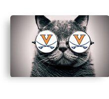 UVA Cat Canvas Print